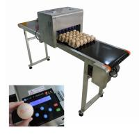 High Performance Egg Printing Machine Can Print Large Or Micro Characters for sale