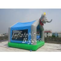 Elephant Balloon Commercial Inflatable Bouncers / HR4040 Inflatable Jumpers For