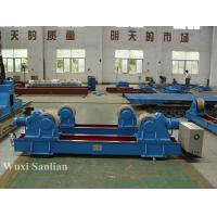 3KW Self-adjusting Pipe Turning Rolls 40ton in Blue , Wireless Welding Rotator