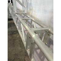 Buy Stage Screw Aluminum Square Truss , Silver Tube Truss System at wholesale prices