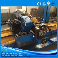 Quality High Speed Flying Cut Off Saw 100m / Min Without Burr 12m Cutting Length for sale