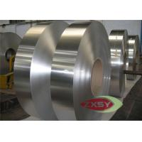 Quality Aluminum Fin Straps Aluminium Strip For Cable And Multiple-unit Board / Commercial Freezer for sale