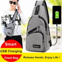 Quality USB Charging Interface Small Hiking Backpack With One Strap Leisure Canvas for sale