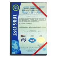 New Siwei Printing and Packaging CO., Ltd Certifications