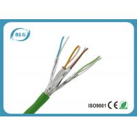Quality Twisted Pairs Ethernet Cat6a Lan Cable For Computer High Frequencies for sale