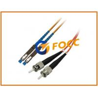 Quality PVC Jacket ST to MU Fiber Optic Patch Cables Multimode Duplex OM1 , 2.0mm for sale