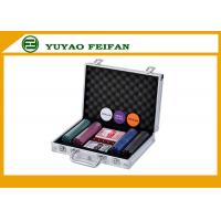 Travel Promotional 200 pcs 4G Poker Chips Sets With Aluminum Case