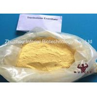 Quality Effective Trenbolone Enanthate Injection , Parabolan Steroid Yellow Powder For Fat Loss for sale