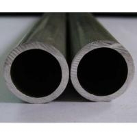 Round Silver Anodized Aluminum Tube 6061 / 6005 T6 For Trailers / Electronics for sale