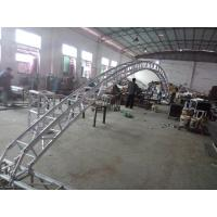 Buy Black 300*300*12m Length Arch Spigot Connection Aluminum Stage Truss Strong at wholesale prices