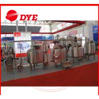 Quality Full-Automatic Mini All Grain Home Brewing Equipment 100L - 5000L for sale