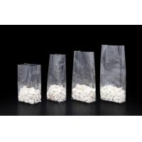 BOPP Square / Block Bottom Bags with Flat Base With Tin Tie / OPP Packaging Bags