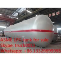 Quality ASME standard 40tons CLW brand lpg gas storage tanks for sale, best price 100,000L propane gas storage tank for sale for sale