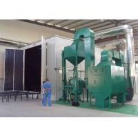 Quality Auto Dust Recycling Bead Blast Booth Castings Surface Cleaning Heavy Duty for sale