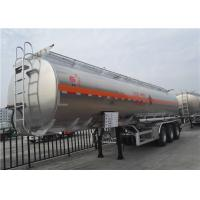 China 45000 Liters Aluminium Alloy Petrol Tanker Semi Trailer, Oil Tanker, Truck Aluminum Fuel Tanks on sale