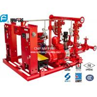 Quality High Performance Centrifugal Fire Pump System 115PSI With 24.6kw MAX SHAFT Power for sale