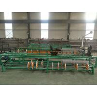 Quality 3m width Single wire feeding Fully Automatic Chain Link Fence  Machine for sale