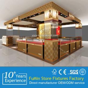 Quality Custom floor standing jewelry display showcase/jewelry store showcase/wholesale jewelry for sale