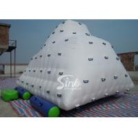 Buy Commercial Sports Iceberg Big Inflatable Water Toys for Kids , Adults at wholesale prices