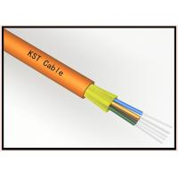 Quality 24 Core Loose Tube Dielectric Fiber Optic Cable , Fiber Optic Internet Cable for sale