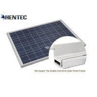 Quality CA And CE Aluminum Solar Panel Frame 6063-T5 With Oxidized / Anodizing for sale
