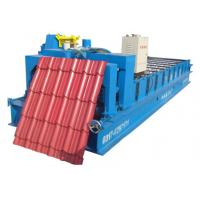 Buy cheap metal glazed roofing tile machine from wholesalers
