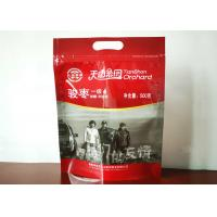 Quality Food Packaging Bag For Red Jujube Fruit Red Date Nuts Handle Top Packaging Bag for sale