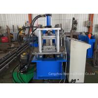 Quality 11 Rollers Down Spout Roll Forming Machine 6kw Power 2 Years Warranty for sale