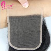 Quality Transparent Swiss Lace Virgin Hair Closures Cuticle Aligned Raw Brazilian for sale
