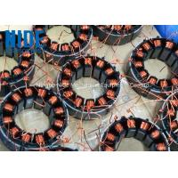 Quality Automatic 2 Stations Electric Motor Winding Equipment For Multi Pole BLDC Motor Stator for sale