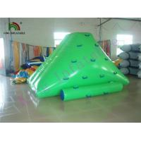 Quality Aqua Customized Inflatable Water Toys / Mini Jumping  PVC Iceberg For Adult and Kids for sale