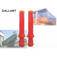 Quality Telescoping Dump Truck Hydraulic Ram Cylinder with ISO / Ts16949 for sale