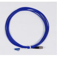 China LC To FC Fiber Optic Patch Cable UPC Simplex For Communication Devices on sale