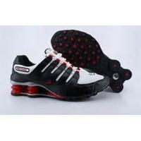 China Men's Nike Shox NZ Shoes Black and red sculpture on sale