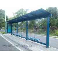 Quality 10mm tempered / toughened glass for bus station with ISO9001, CE, Australia  AS/NZS 2208 Certificate for sale