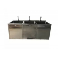 Buy cheap OT Room Medical Stainless Steel Sinks With Big Bowl And Sensor Faucet from wholesalers