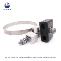 Quality 17mm Steel 0.7 Inch ISO9001 Down Lead Clamp for sale