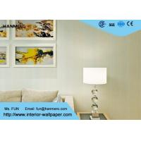 Quality Modern Contemporary Wall Coverings / Breathable Striped Wallpaper for Living Room for sale