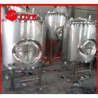Quality 5BBL Stainless Steel Bright Beer Tank For Brewery High Precision Material for sale