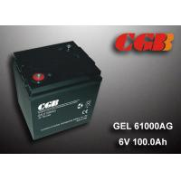 Quality 6V 100AH GEL - AG Seires Sealed Lead Acid rechargeable Battery For UPS EPS for sale