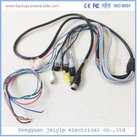 Quality Waterproof Camera Monitor Cable , Rear View Camera Cable 20 Pin 1 Male To 4 Female Connector for sale