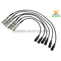 Quality Custom Plug Wires / Auto Spark Plug Wires Anti Interference For Volkswage Skoda Audi for sale
