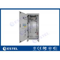 Buy Emerson Rectifier / Battery Outdoor Power Cabinet Sandwich Structure Panel IP55 at wholesale prices