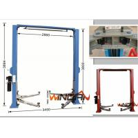 Buy cheap Gate Style Hydraulic Car Lift Automotive Scissor Lift Manual Release 4.0T from wholesalers