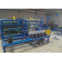 Quality Fully Automatic Chain Link Fence Machine 6KW PLC Control With One Person Operate for sale