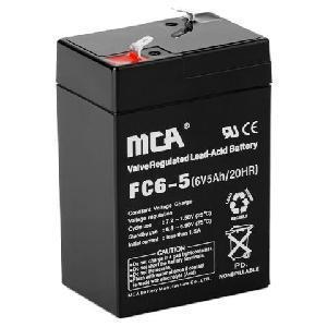 Quality Sealed Lead Acid Battery 6V5ah for sale