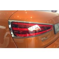 Quality Audi Q3 2012 Car Headlight Covers Chromed Plastic ABS For Tail Light for sale