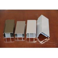 Quality Golden Aluminum Window Extrusion Profiles  for sale