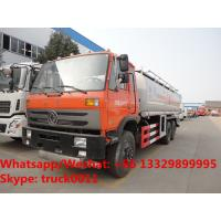 Quality dongfeng 6*4 LHD 210hp diesel 23000L dongfeng double rear axles oil truck for sale, wholesale price Fuel tank truck for sale