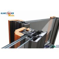 Buy Windows Aluminium Extruded Profile 12 Micro Anodizing Thickness at wholesale prices